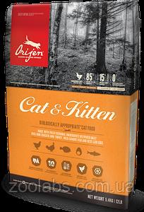 Сухой корм Orijen для кошек и котят   Orijen Cat & Kitten 1,8 кг