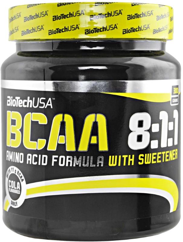 Аминокислота BCAA 8:1:1 (300 g, unflavored) BioTech