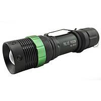 Тактический фонарь POLICE BL 8455 Q5 50000W фонарик 500 Lumen Фонарь ручной мощный, фото 1