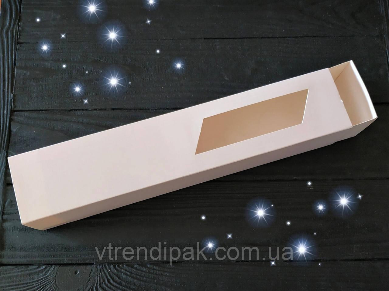 Коробка для macarons 300*60*50 Білий