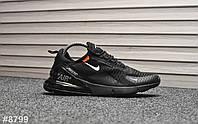 Кроссовки мужские Nike Air Max 270 Off-Black. ТОП КАЧЕСТВО!!! Реплика класса люкс (ААА+), фото 1