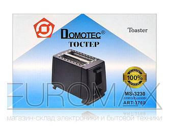 Тостер Domotec 650Вт 6 режимов MS-3230