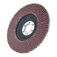 Круг лепестковый торцевой КЛТ1 125х22 10(Р120) KK19XW БАЗ