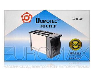 Тостер Domotec 650Вт 6 режимов MS-3232