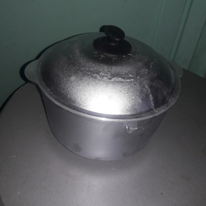 Казан походный алюминиевый 6 литров