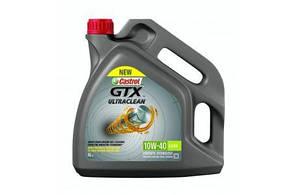 Масло моторное CASTROL GTX ULTRACLEAN 10W-40 A3/B4 4L