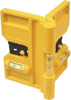Уровень 29C897 Topex угловой для установки столбиков, пластиковый, поворотный