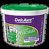 """Краска водно-дисперсионная фасадная Facade TM """"DekART"""", 1,2кг (белая)"""