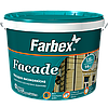 Краска фасадная высококачественная «Facade» (Фасад) ТМ «Farbex», 3.6 кг (база С)