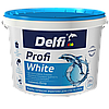 """Краска латексная акриловая для стен и потолков Profi White (TM """"Delfi"""") 4,2 кг"""
