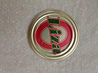 """Крышка СКО 1-82 """"Liza"""", красно-зеленый логотип 50 шт"""