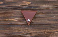 Монетница ручной работы из кожи Краст VOILE cn1-kcog, фото 3