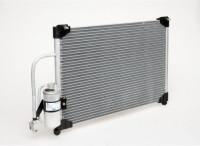 """Радиатор  кондиционера Lanos """"Лузар"""" (LRAC CHLs0235) с ресивером"""