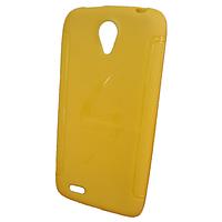 Силиконовая накладка Lenovo A656 Желтый