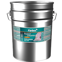 Эмаль алкидная ПФ-115П Farbex тёмно-серая 25 кг