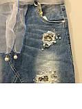 Джинсовая юбка для девочки модная 8(140)-18(170), фото 7