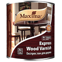 """Экспресс лак для дерева TM """"Maxima"""" глянцевый 2,5 л"""