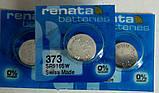Батарейка для часов  RENATA 373 SR916, фото 3