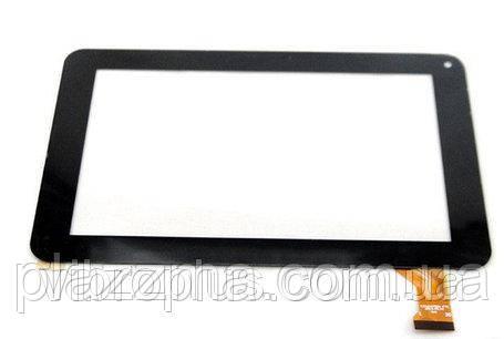 Тачскрин (сенсор) под китайский планшет CZY6347B01-FPC, XC-PG0700-108B-A1, белый, 111 х 186 мм., 11.0, 7.0 inc