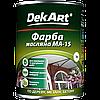 Краска масляная МА -15 DekArt (ярко-зелёная) 1кг