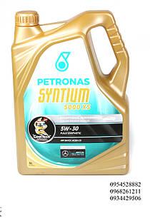 Масло 5W30 SYNTIUM 5000 XS (5L) PETRONAS (Малайзия) 18145019
