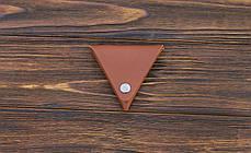Монетница ручной работы из кожи Краст VOILE cn1-klcog, фото 3