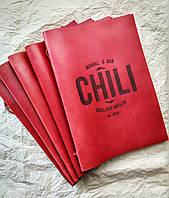 Шкіряна обкладинка для меню, Обкладинка меню ресторану, обкладинка для меню кафе, ресторану, шкіра