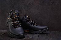 0c4c1e22 Ботинки Anser 130 (Ecco) (зима, мужские, натуральная кожа, черный)