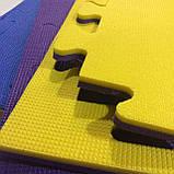 Коврик-пазл, татами ласточкин хвост,  т. 30 мм, размер 100х100 см, плотность 50 кг/м3, TERMOIZOL®, фото 2