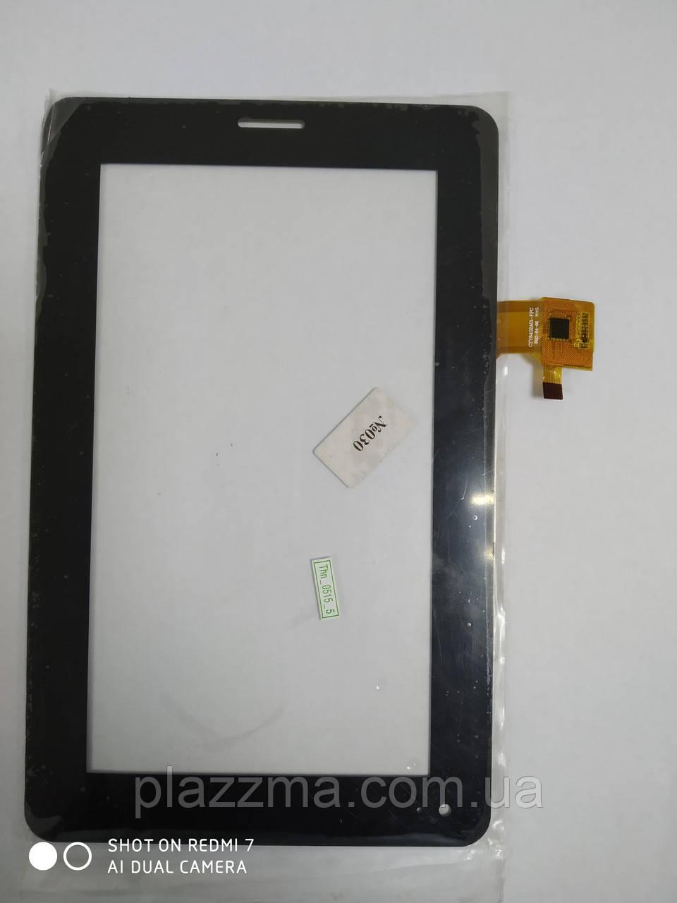 Тачскрин (сенсор) под китайский планшет Samsung P3100, YJ031FPC-V0, CZY6313A01-FPC, CZY6402A01-FPC, черный, 10