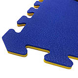 Коврик-пазл, татами ласточкин хвост,  т. 20 мм пенополиэтилен, 100х100 см, плотность 50 кг/м3, TERMOIZOL®, фото 9