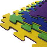Килимок-пазл 50х50 см, набір 12 шт., 2,80 м2, т. 10 мм пінополіетилен щільність 50 кг/м3, TERMOIZOL®, фото 5