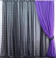 Красивый комплект штор для гостиной интернет магазин