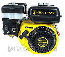 Бензиновый двигатель на мотоблок Кентавр ДВЗ-210БШЛ (7,5 л.с., ручной старт, шлиц Ø25мм, L=36мм)