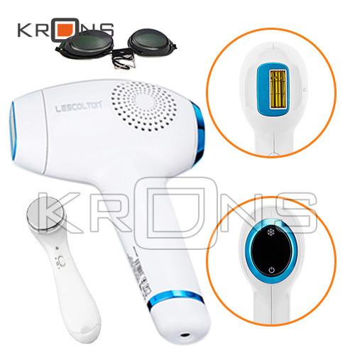 Эпилятор IPL фотоэпилятор домашний Lescolton T011C с охлаждением кожи + фотоомоложение