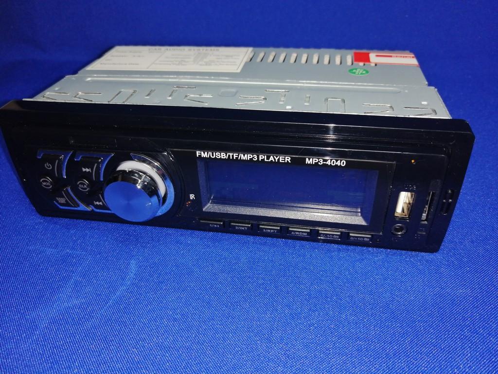 Магнитола MP3 4040 FM/USB/TF 4x45 Вт