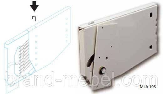 Механізм підйому двоспального ліжка трансформера MLA 108.4/Подъемный механизм кровати трансформера МЛА 108,4