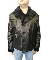 Дубленка мужская Oscar Fur 358 Черный , фото 1