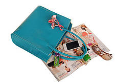 Модная повседневная сумка с брелком, фото 2