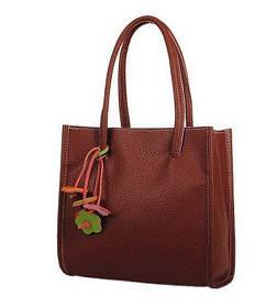 Модная повседневная сумка с брелком
