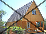 Дачные сборные каркасные дома из цельного  материала!, фото 3