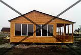 Дачные сборные каркасные дома из цельного  материала!, фото 6