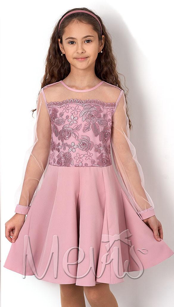 """Нарядное платье для девочки """"Гвоздика"""""""