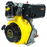 Дизельный двигатель Кентавр ДВЗ-420Д (10,0 л.с., шпонка Ø25мм, L=72мм, ручной старт), фото 1