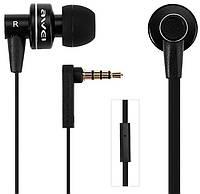 Наушники с микрофоном Awei ES900i Wired Earphones, Black