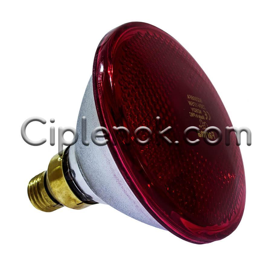 Инфракрасная лампа для обогрева PAR38 175 Вт Farma (Польша)
