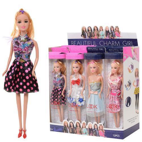 Кукла 28см, 4 вида, ZR-065