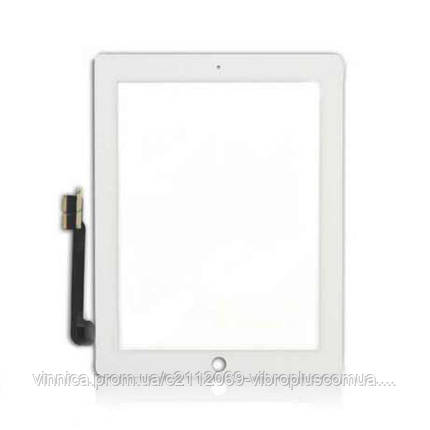 "Тачскрин (сенсор) 9.7"" Apple iPad 3, iPad 4 h/c, white (белый), фото 2"