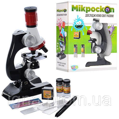 TG Микроскоп 1006265 R/C 2121 (36шт) аксессуары, свет, на бат-ке, в кор-ке, 19-24-8,5см