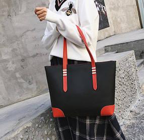 Красивая вместительная женская сумка